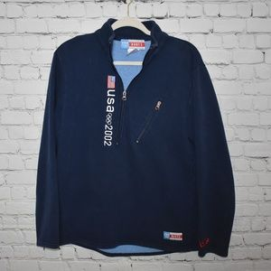 USA 2002 Olympic Team Roots 1/4 Zip Pullover